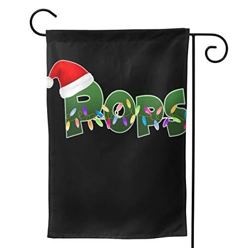 2 peças Bandeira de jardim Natal Papai Noel Pops Pôster horizontal 71 cm x 40 - Dia das Mães, presentes de aniversário para mãe, pai, esposa, marido, filhas, avó, amigos