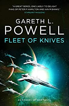 Fleet of Knives by Gareth L. Powell science fiction and fantasy book and audiobook reviews