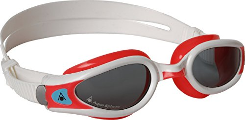 Aqua Sphere Kaiman EXO Schwimmbrille Lady getöntes Glas rot rot/weiß S