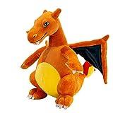 krisphily Evolutive Winged fire-Breathing Dragon Stuffed Animal Dinosaurs Plush Doll Charizard Kids Toys 13'(Orange)