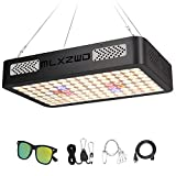 MLXZWD 1000W LED Grow Light for Indoor Plants - sunlike Full Spectrum Dual Chips Reflection Cup Design Plant Lamp, with Adjustable Rope, UV&IR for Hydroponic Veg and Flower