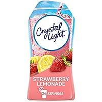 12-Pack Crystal Light Liquid Strawberry Lemonade Drink Mix, 1.62 oz