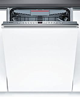 Bosch Serie 4 SBV46MX03E Totalmente integrado 14cubiertos A++ lavavajilla - Lavavajillas (Totalmente integrado, Tamaño completo (60 cm), Acero inoxidable, Botones, Frío, 14 cubiertos)
