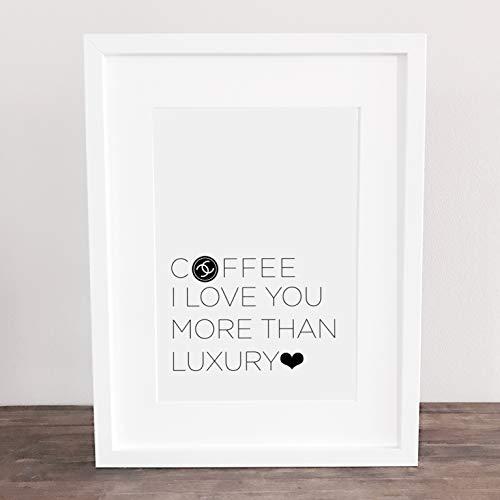 Poster, Kunstdruck, Bild, Kaffee, coffee, Frühstücksbild, Küchenbild