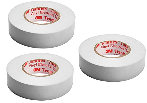 3M Isolierband Temflex 15mmx10m weiß, TAPE-WHITE/3M