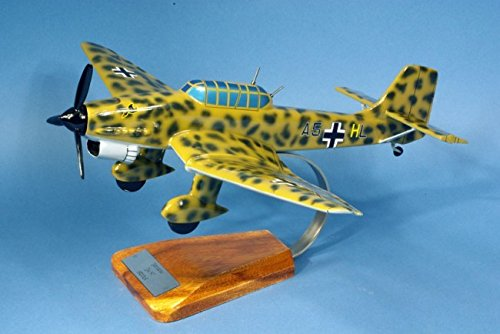 Aero-Passion Junkers Ju.87 Stuka - groot mahonie model - vliegtuigen collectie