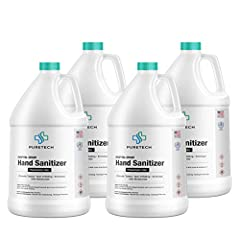 CONTAINS 80%+ ETHYL ALCOHOL: A must have for cold to stop the spread of illness causing germs. Please note this instant hand sanitizer formula is scent free and liquid. SAFE FOR KIDS: Great bulk hand sanitizer pack for parents and teachers. Pure natu...