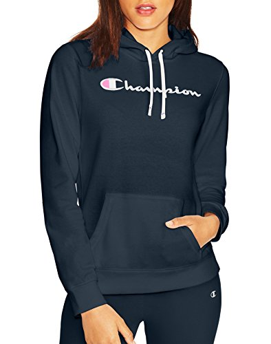 Champion Life Damen European Collection French Terry Hoodie (Limited Edition) - Blau - Medium