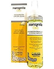 Manzanilla hairy with chamomile water