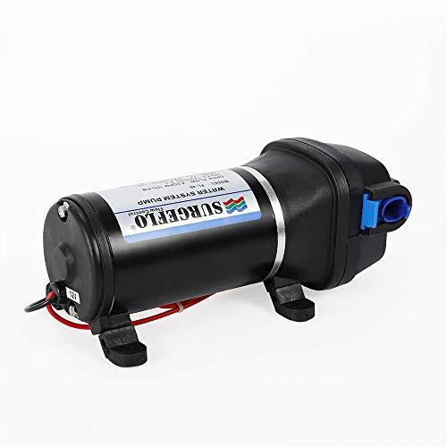 Bomba de alta presión electrónica automática de presión de agua bomba de flujo de ducha para el hogar jardín 17L/min 12V 40PSI