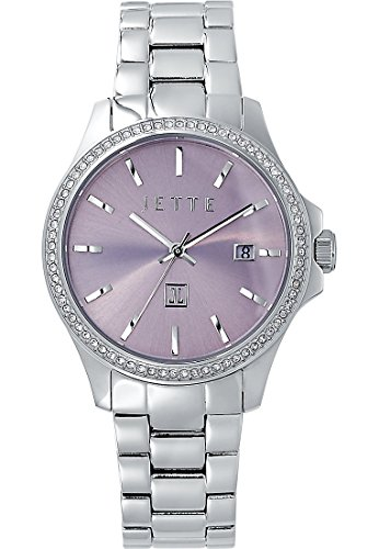 JETTE Time Damen-Uhren Analog Quarz One Size Edelstahl 87210227