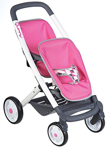 Smoby 253297 Quinny Twin Pushchair