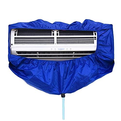 GRTBNH Copertura per Pulizia Condizionatore d'Aria, Kit Pulizia dell'Aria Condizionata Split con Tubo dell'Acqua, Borsa Protettiva per Lavaggio Condizionatore d'Aria Impermeabile(Inferiore a 2,5 P)
