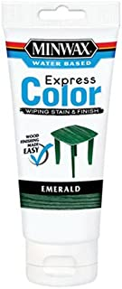 Minwax 308064444  Express Color Wiping Stain and Finish, Emerald