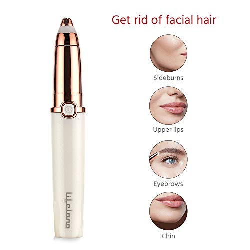 Lifelong LLPCW32 Precision Plus Eyebrow Trimmer for Women with LED Light
