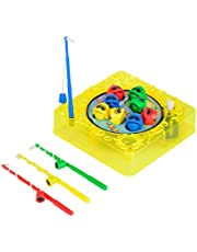 Noris 106062999 Games & More, gra wędkarska, 10 x 10 cm z funkcją wyciągania, sortowana