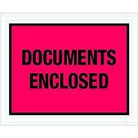 Tape Logic TLPL438 Documents Enclosed Envelopes 4 1/2 x 5 1/2 Red (Pack of 1000) [並行輸入品]