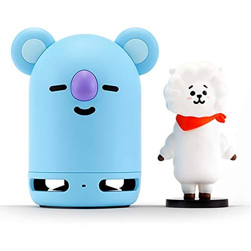 BT21 BTS Friends Duo - Juego de bocina portátil estéreo Bluetooth y figura para el...