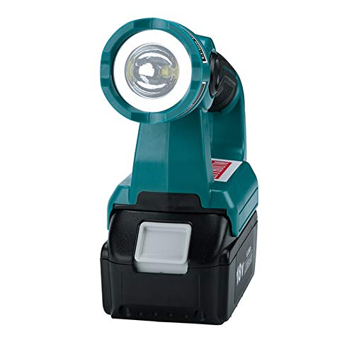 BL1840 para Makita Outdoor LED luz larga para Makita batería 14,4 V-20 V lámpara de trabajo BL1850 BL1830 (3 W Portable FBA)