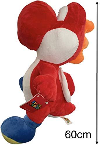 Calidad de Regalo de Yoshi con Licencia - Peluches de 60 cm