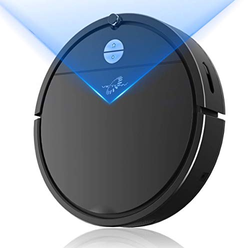 VICTONYUS 1650Pa Strong Suction, Super Thin Robotic Vacuum, Multiple Cleaning Modes/Automatic Self-Charging Robot Vacuum for Pet Hair