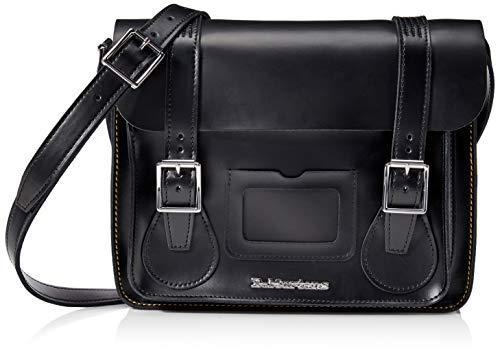 Dr. Martens 11 Inch Leather Satchel AB097001; Unisex Bag; AB097001; Black; One Size EU (UK)