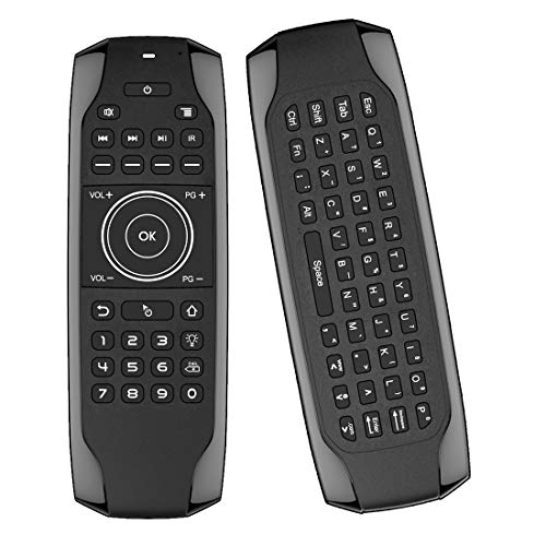 Air Mouse, Strqua Air Remote Mouse with G7 Backlit, 2.4G Wireless Kodi Remote Control, Mini Wireless Keyboard & Infrared Remote Control for Android Smart Tv Box HTPC IPTV PC Pad