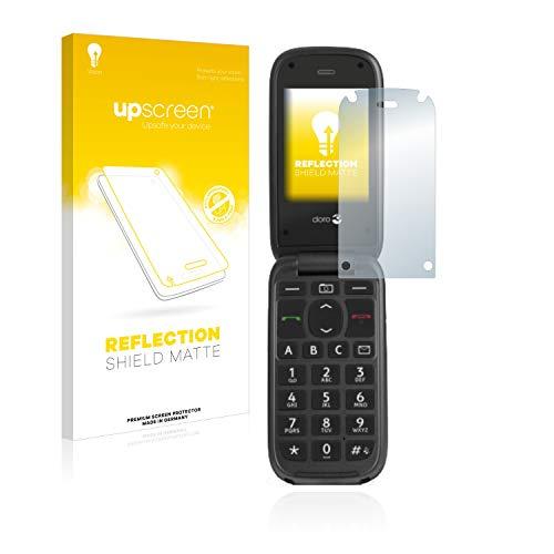 upscreen Entspiegelungs-Schutzfolie kompatibel mit Doro PhoneEasy 613 – Anti-Reflex Bildschirmschutz-Folie Matt