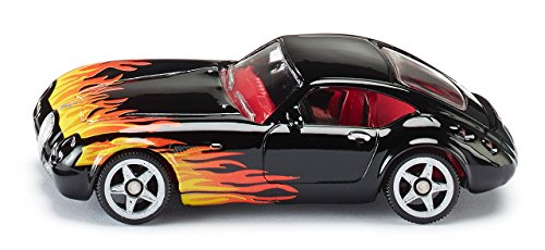 SIKU - 0304310 - Véhicule Miniature - Modèle Simple - 1336 - Wiesmann GT Flames