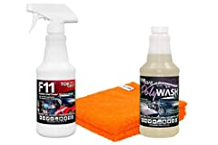 ✔️TOPCOAT POLYWASH is MADE IN AMERICA🇺🇸 and is formulated with our advanced Micro-Bond technology - designed for the automatic car wash industry. TOPCOAT F11 Polish and Sealer is Eco-Safe, MADE IN AMERICA🇺🇸, and is designed to replace, out-perform, a...