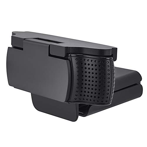 CloudValley Webcam Cover Compatible with Logitech C920 Pro / C930e / C920x/ C922x, Privacy Cover ▎Shutter to Protect Lens and Security, Matte Black,1 Pack 180° Flip