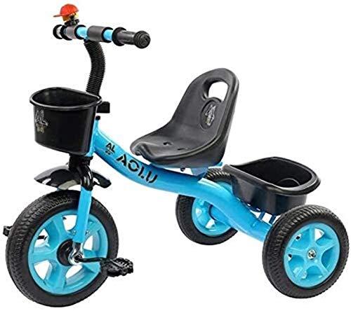 GYF Triciciclo triciclo para niños pequeños y pequeños, edad de 2/4/4/5 / edad, pedal de triciclo de 3 ruedas, prueba
