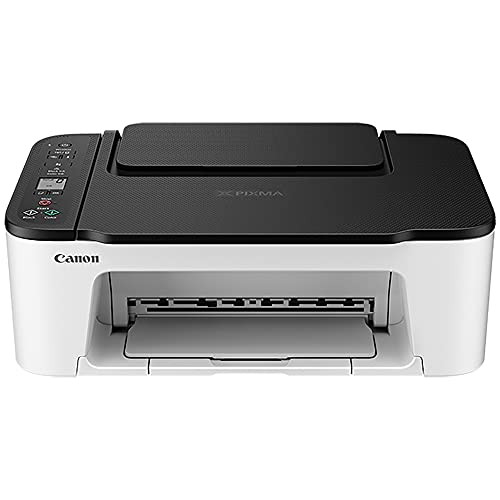 Canon PIXMA TS Series Wireless All-in-One Color Inkjet Printer - Print, Scan, Copy for Home Office - 1.5 Segment LCD Display, 4800 x 1200 dpi, Borderless Printing, BROAGE Printer Cable