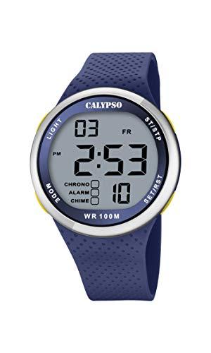 Calypso Quarz Uhr mit Kunststoff Armband K5785/3