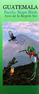 Guatemala Pacific Slope Birds Wildlife Guide (Laminated Foldout Pocket Field Guide) by Rainforest Publications (2014-01-01)