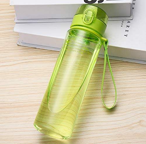 Poi Plastic portable student custom creative plastic cup summer sports cup hand cup (Color : H, Size : 1)