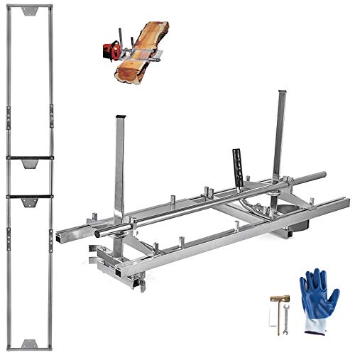 Hihone Portable Planking Chainsaw Mill/Milling/Wood Lumber Cutting Sawmill