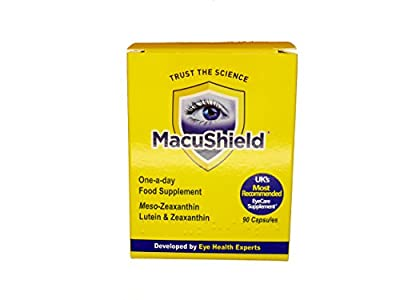 MacuShield Food Supplement 90 Tablets