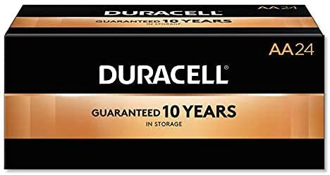 Duracell Coppertop AA 1.5V Alkaline Battery, 10 count, Pack of 10