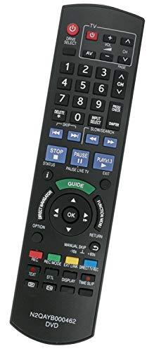 ALLIMITY N2QAYB000462 sub N2QAYB000466 Fernbedienung Ersatz für Panasonic DVD Recorder DMR-EH495 DMR-EH595 DMR-EH695 DMR-EX72S DMR-EX769EF DMR-EX773 DMR-EX83 DMR-EX98 DMR-EX99 DMR-EZ47