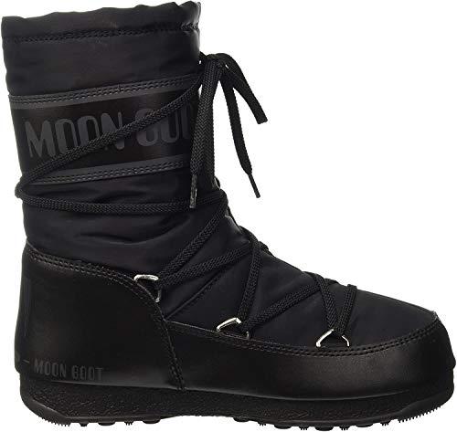 Moon Boot - Chaussure Après Ski Moon Boot Soft Shade Mid Black - Femme - 37