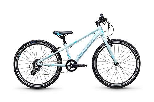 S'Cool liXe 24R 8-S Kinder Fahrrad (29cm, icegrey/Blue matt)