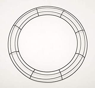 wire wreath frame sizes