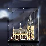 Vitrina de Acrílico para Lego Gran Comedor de Hogwarts 75954,Display Case Vitrinas para Colecciones Modelismo (Solo Vitrina)