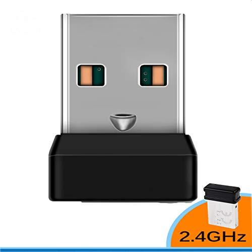 Houkiper draadloze ontvanger dongle voor Logitech Unify draadloos toetsenbord 6 kanaal 6MM, Pack of 1X
