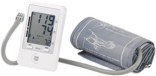 newgen medicals Blutdruckmessgerät: Medizinisches Oberarm-Blutdruck-Messgerät, Speicher für 180 Messungen (Oberarmblutdruckmessgerät)