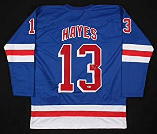 Kevin Hayes Autographed Signed New York Rangers Hockey Jersey (Size XL) Beckett Coa Autographed Signed NHL
