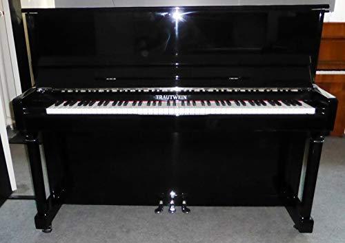 Klavier Marke TRAUTWEIN Modell K-118 - Schwarz poliert - 1 Jahr gebraucht aus Vermietung