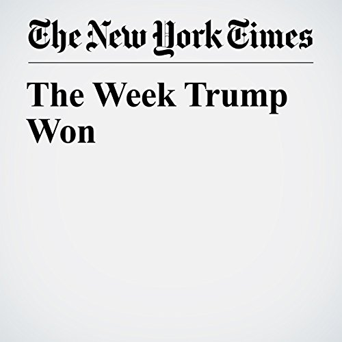 The Week Trump Won copertina