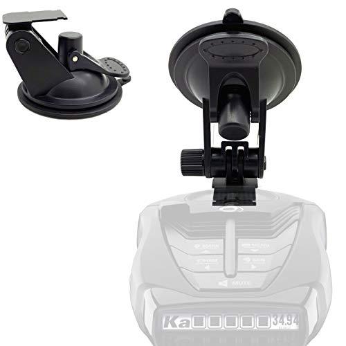 ChargerCity Super Suction Radar Detector Windshield Suction Cup Mount for Cobra XRS 93xx 94xx 95xx 96xx 97xx 98xx 99xx SPX 5300 5400 5500 6500 6600 6700 7700 7800 iRadar Detector